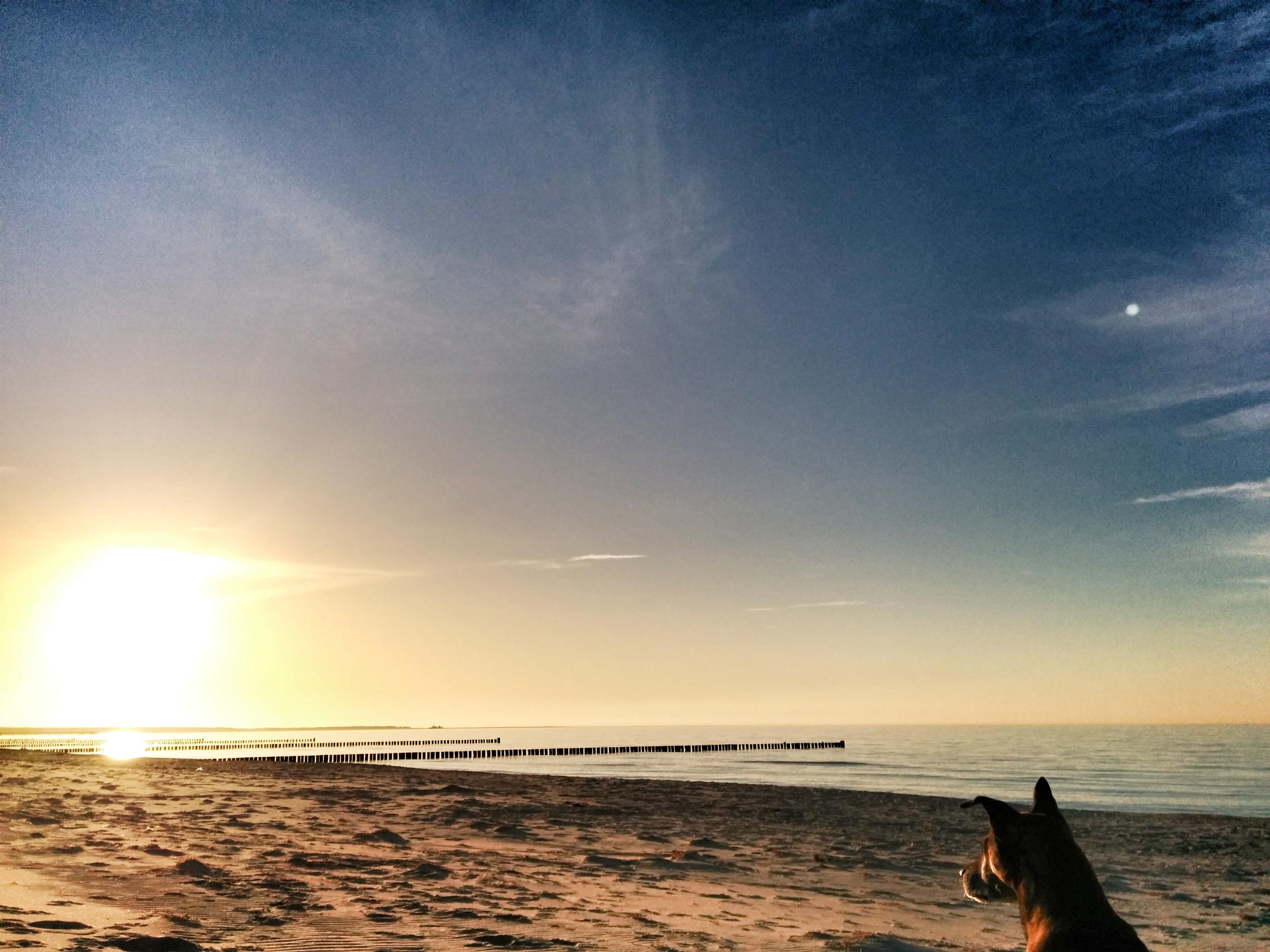 Abendstimmung am Nordstrand der Ostsee